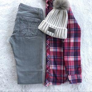 NWOT Habitual Jeans Women's Grey Jeans Size 26